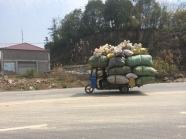 China recycling truck