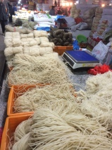 noodles at the market